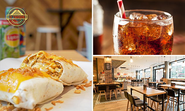 Afhalen: taco of bowl + drankje bij O'Tacos in hartje Utrecht