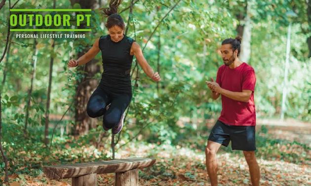 2x outdoor personal training (60 min) voor 1 of 2 personen
