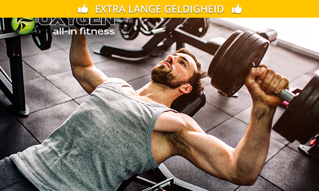 1 maand onbeperkt fitness + groepslessen
