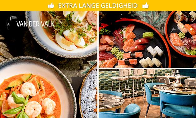 Shared dining + dessert bij OZZO Sushi & Oriental