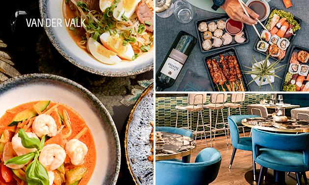 Afhalen: sushiworkshop of luxe brunch/diner bij OZZO