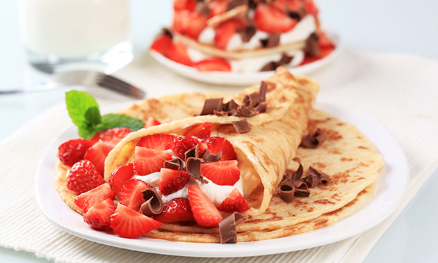 All-You-Can-Eat pannenkoeken (2 uur)