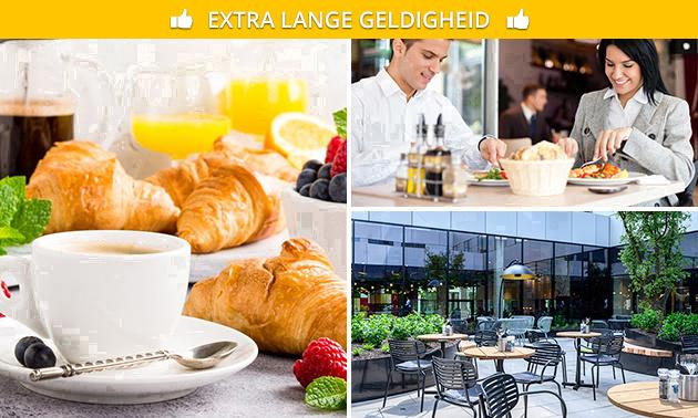 Uitgebreid ontbijtbuffet + drank bij Radisson Berchem