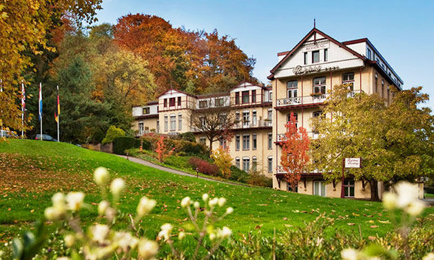 Overnachting voor 2 + ontbijt + wellness in Valkenburg