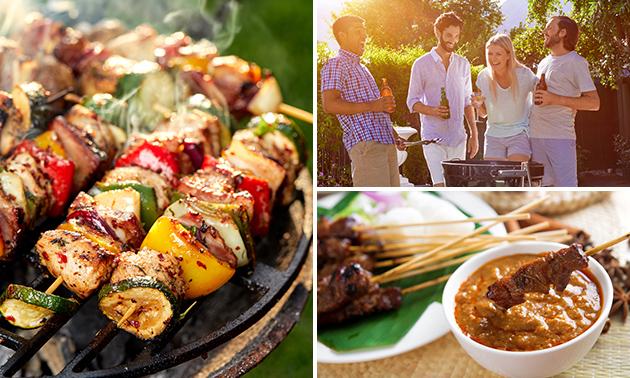 Luxe barbecuepakket thuisbezorgd + afwas