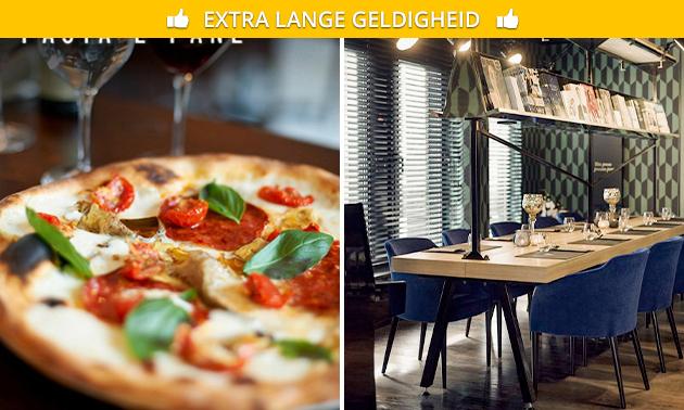 Afhalen: pizza naar keuze in hartje Hasselt