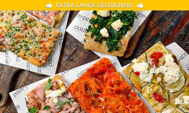 Afhalen: pizzaproeverij bij Pazze e Pizza