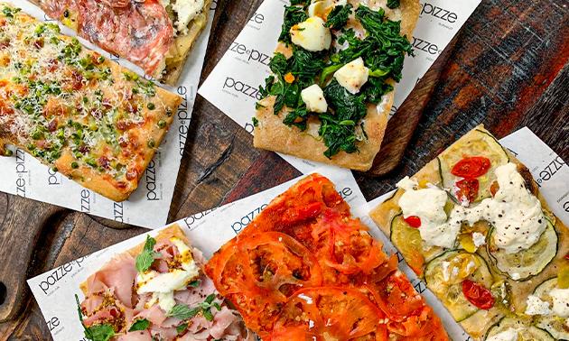 Afhalen: pizzaproeverij bij Pazze e Pizze