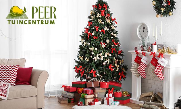 Waardebon voor kerstbomen en kerstartikelen