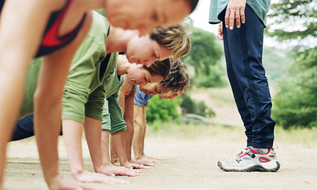 8 lessen bootcamp of personal training