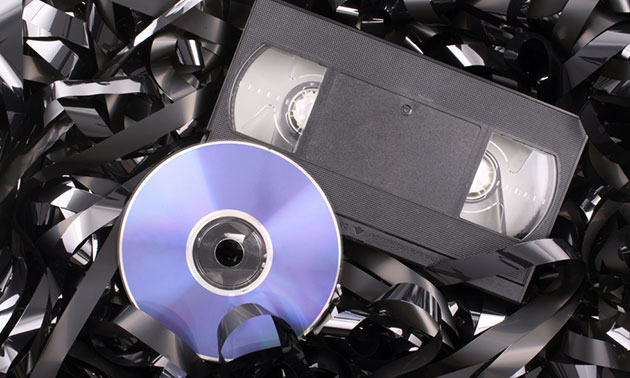 Video omzetten naar dvd of USB-stick