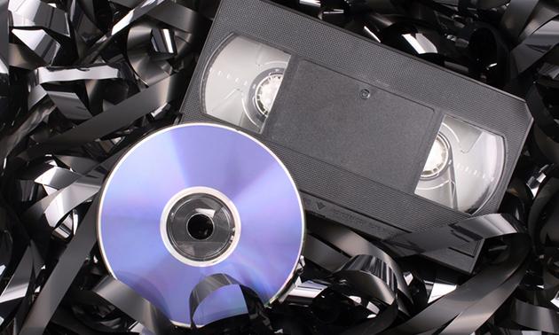 Video omzetten naar dvd of USB