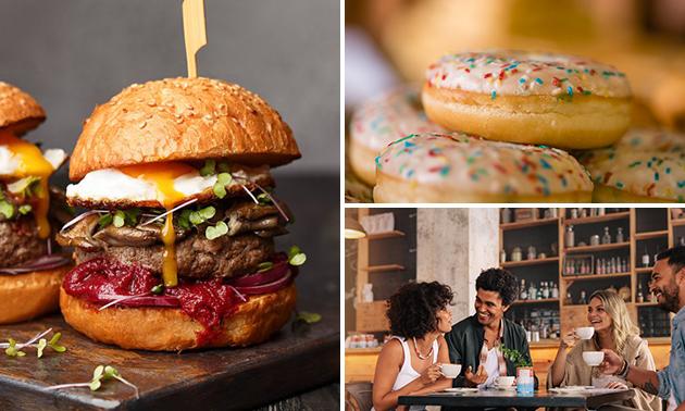 Afhalen: burger + donut in hartje Brugge