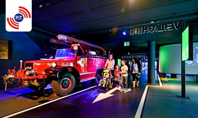 Entreeticket voor PIT Veiligheidsmuseum Almere