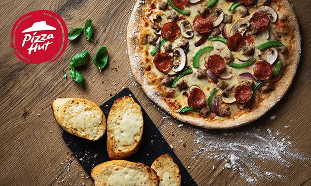Afhalen: pizza naar keuze + frisdrank bij Pizza Hut