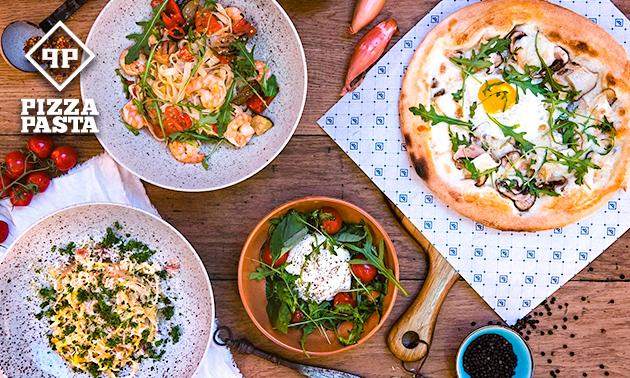 3-gangen keuzediner bij Pizza Pasta