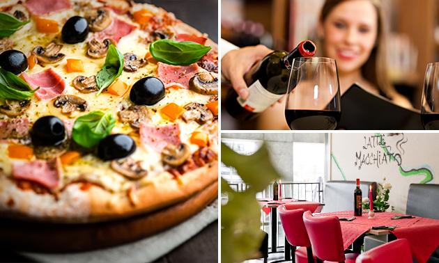 Afhalen: 2-gangen keuzediner + drankje bij Stromboli