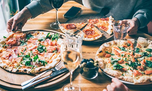 Afhalen: pizza (30 cm) naar keuze bij Pizzeria Roma
