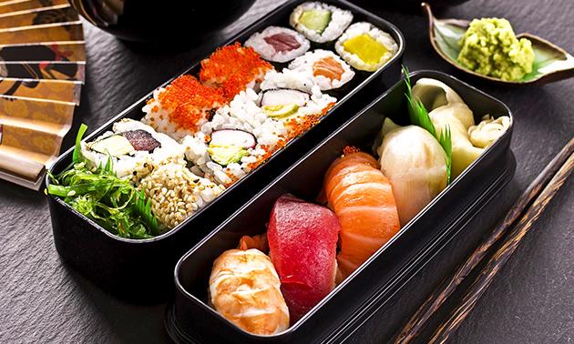 Afhalen: sushibox (22 of 61 stuks) van Poky's