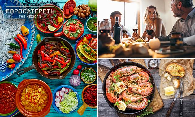 Afhalen: Mexicaanse rijsttafel bij Popocatepetl