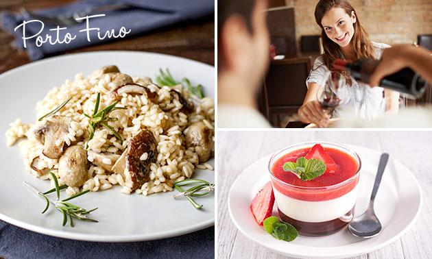 Italiaans 4-gangen keuzediner + aperitief