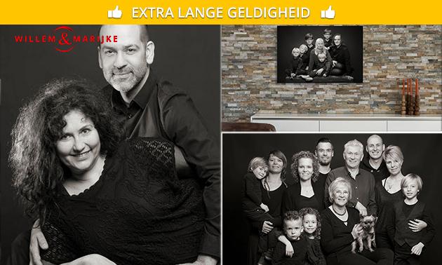 Fotoshoot voor 15 personen + digitale foto
