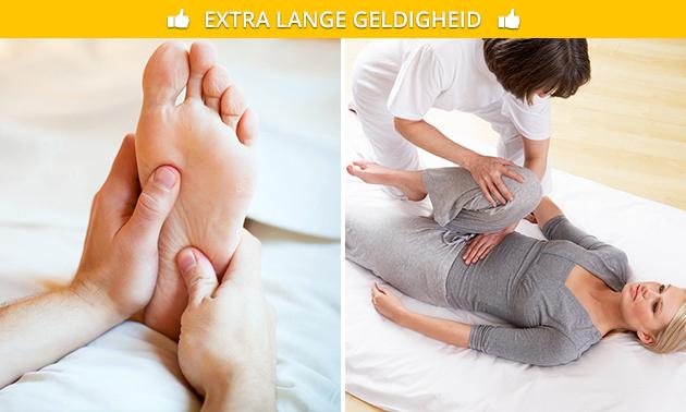 Shiatsu- of voetreflexmassage(s) (60 min)