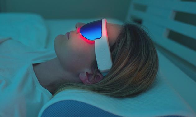 Séance de luminothérapie adaptée au choix