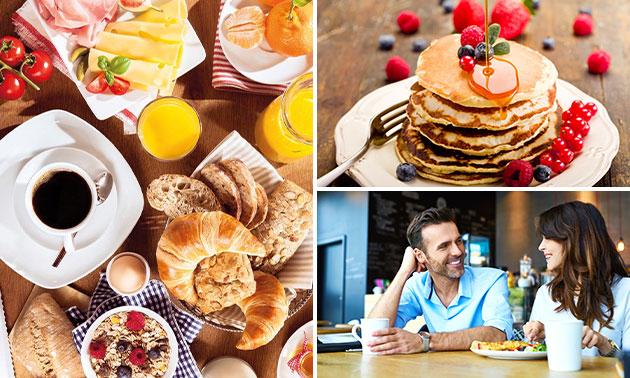 Ontbijt naar keuze + eventueel cava in hartje Hasselt