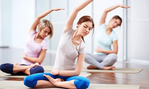 5- of 10-rittenkaart voor yoga of meditatie