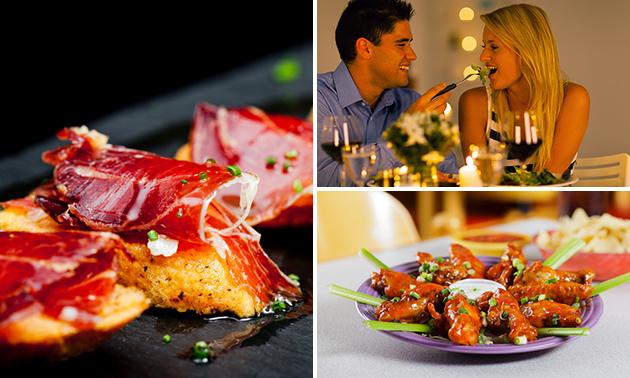 All-You-Can-Eat tapas bij Que Pasa Tapas en Grill