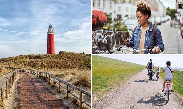Per 2 personen: fietsspeurtocht op Texel