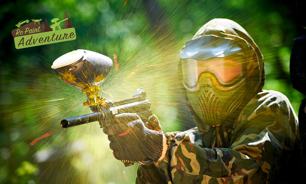 Paintball (2h) + 200 billes