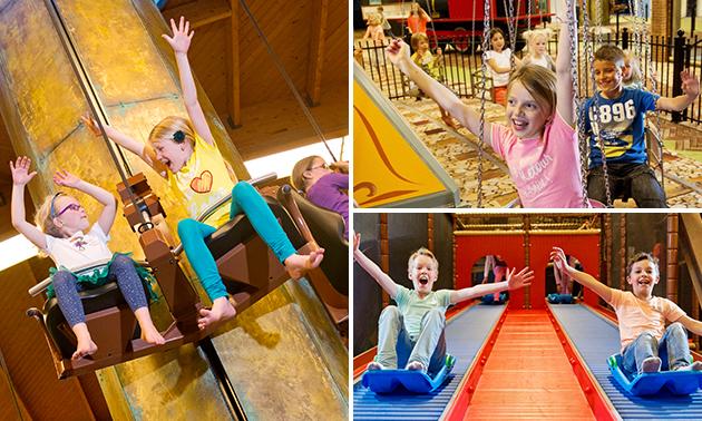 Recreatiepark De Bergen Entree Binnenspeeltuin Limonade Kidsbox