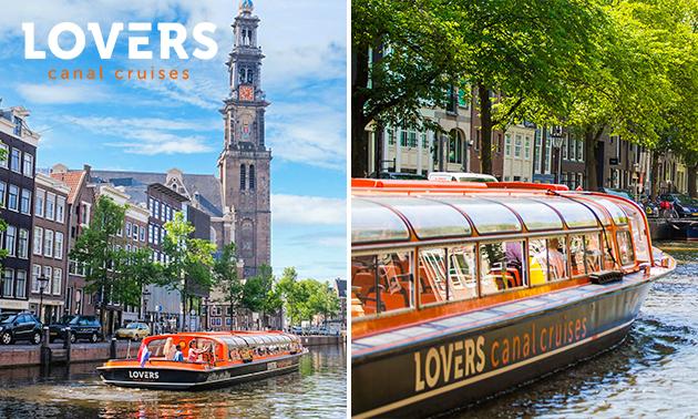 Rondvaart (1 uur) door de grachten van Amsterdam