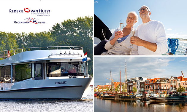 Lente-cruise (1,5 uur) over de Kagerplassen