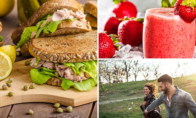 Wandelarrangement + lunch to go bij Red's Tapas Grill & Bar