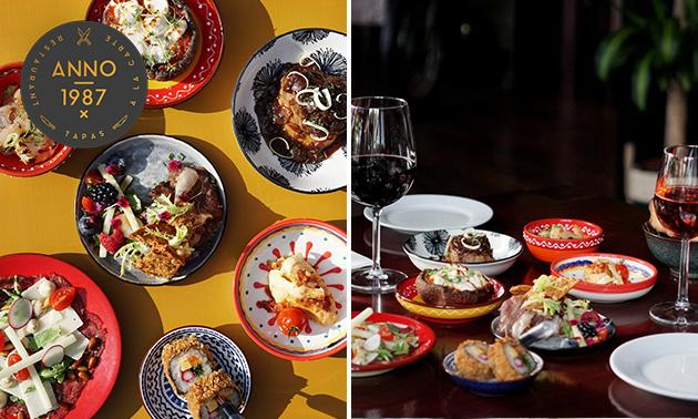 Afhalen: shared dining-diner (7 gerechtjes)
