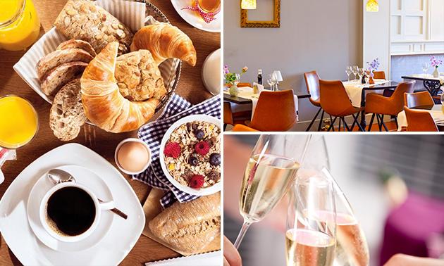 Luxe ontbijt + bubbels bij De Klimop in hartje Leuven