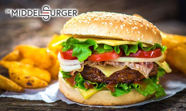 Hamburger naar keuze bij De Middelburger