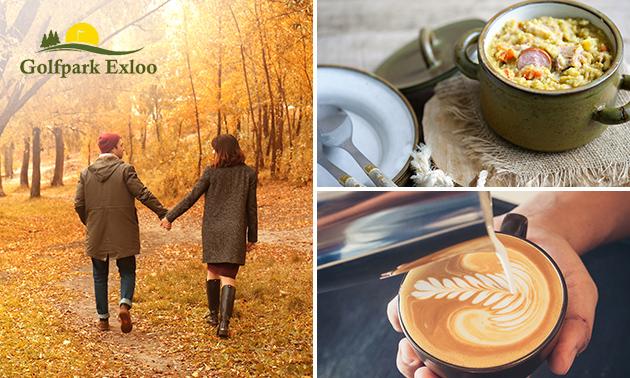 Wandelarrangement + koffie/thee + snert to go