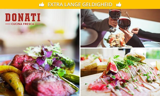 Afhalen of thuisbezorgd: diner van Restaurant Donati