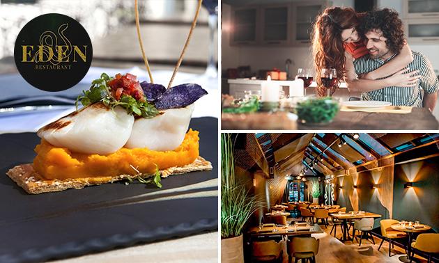 Afhalen: luxe decembermenu voor 2 van Restaurant Eden