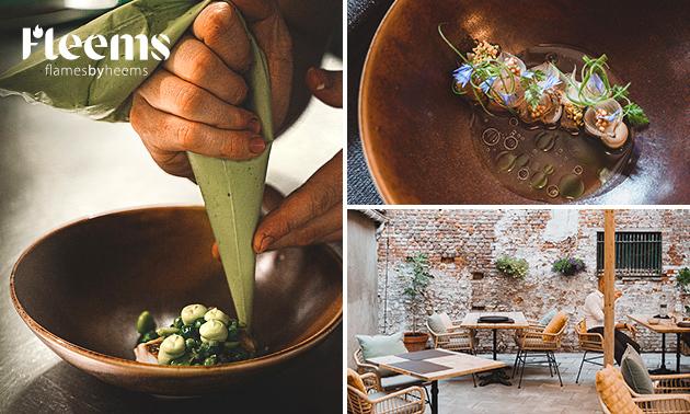 Culinair 4- of 5-gangenlunch of -diner
