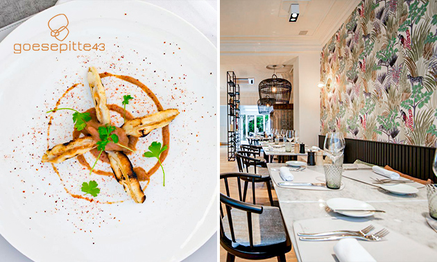 3-gangendiner of -lunch à la carte in hartje Brugge