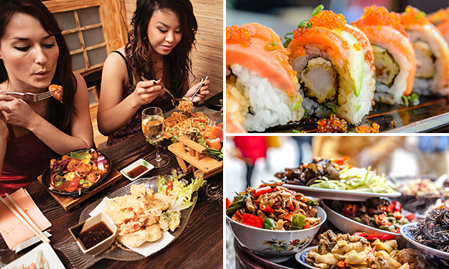 All-You-Can-Eat sushi & fine dining bij Merlina