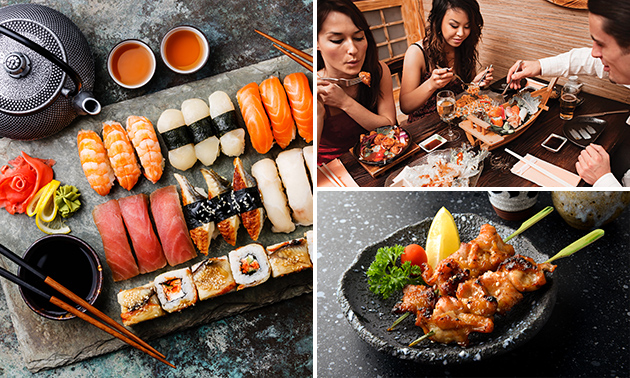 All-You-Can-Eat sushi + Indonesische gerechtjes