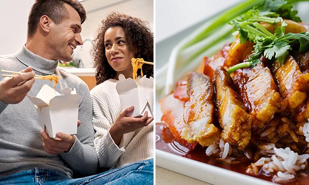 Afhalen: Aziatisch menu voor 2 van Merlina