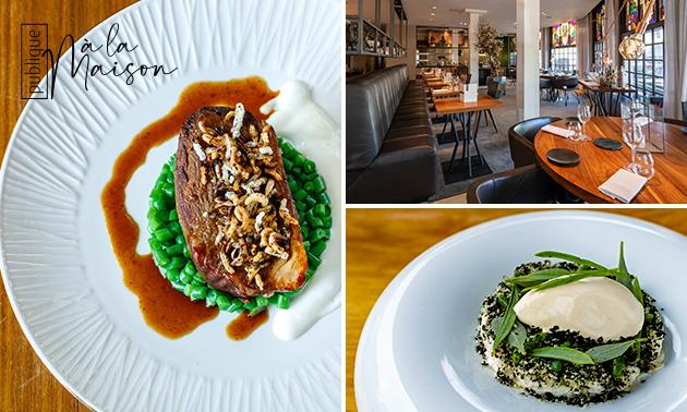 Thuisbezorgd of afhalen: 4-gangen Michelin-diner