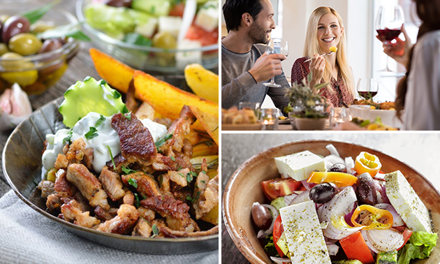 All-You-Can-Eat (2,5 uur) bij Restaurant Rhodos